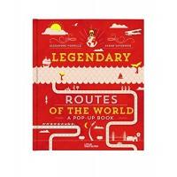 «Легенды великих путей» книга-панорама на английском Сары Тавернье, Александра Верхнего