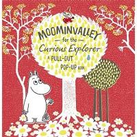 «Долина муми-троллей» книга-панорама на английском Туве Янссон