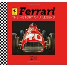 «Феррари: история легенды» книга-панорама на английском Дэвида Хокок