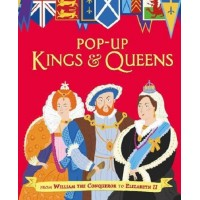 «Короли и королевы» книга-панорама на английском Сондерс Рэйчел