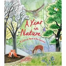 «Календарь природы: времена года. Книга-карусель» книга-панорама на английском Хейзел Мэскелл