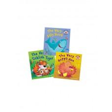 «Детские истории и игры в прятки. Набор из 3х книг» книги-панорамы на английском