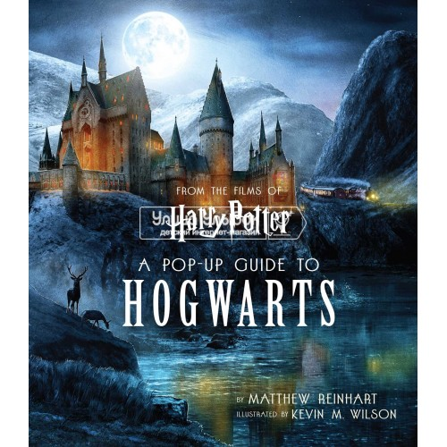«Гарри Поттер. Руководство по Хогвартсу» книга-панорама на английском Мэтью Райнхарта