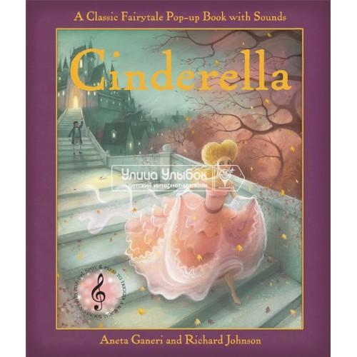 «Золушка. Музыкальная книга-театр» книга на английском Аниты Ганери, Ричарда Джонсона