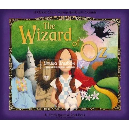 «Волшебник из страны Оз. Музыкальная книга-театр» книга на английском Фрэнка Баума, Пола Хесс
