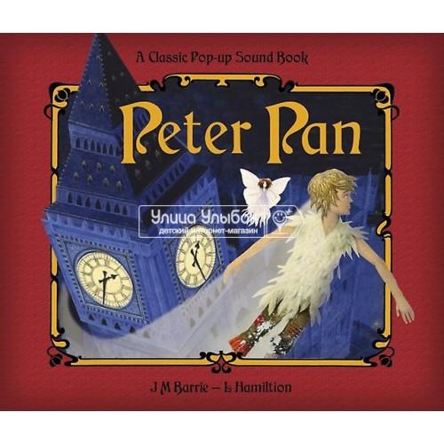 «Питер Пен. Музыкальная книга-театр» книга на английском Джеймса Барри, Либби Гамильтона