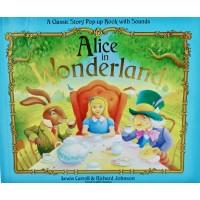 «Алиса в стране чудес. Музыкальная книга-театр» книга на английском Льюиса Кэрролла, Джеймса Кей