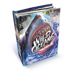 «Дикие океаны» книга-панорама на английском Луцио Санторо, Меера Санторо