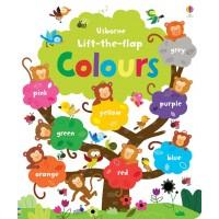 «Книга цвета и оттенки. 60 окошек.» книга с окошками на английском Фелисити Брукс