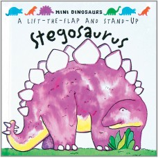 «Стегозавры» книга-панорама на английском Дэвида Хокок