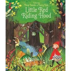 «Красная шапочка. Окно в сказку» книга с окошками на английском. Анна Милборн,Джулия Сарда