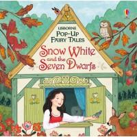 «Белоснежка и семь гномов» книга-панорама на английском Сюзанны Дэвидсон, Софи Аллсопп