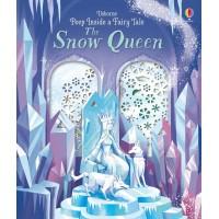 «Снежная королева. Окно в сказку» книга с окошками на английском Анны Милборн, Эрмос Джорджа
