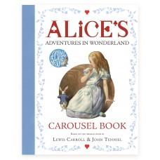 «Алиса в стране чудес. Книга-карусель» книга-панорама на английском Льюиса Кэрролла, Джона Тенниэля