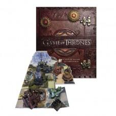 «Игра престолов. История 7 королевств и невероятная 3D модель Вестероса и Эссоса» книга-панорама на английском Меттью Рейнхарта