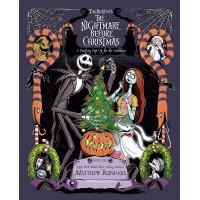 «Кошмар перед Рождеством» книга-панорама на английском Меттью Рейнхарта