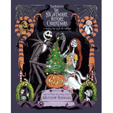 «Кошмар перед Рождеством» книга-панорама на английском. Меттью Рейнхарт