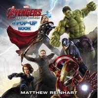 «Мстители: Эра Альтрона» книга-панорама на английском Меттью Рейнхарт