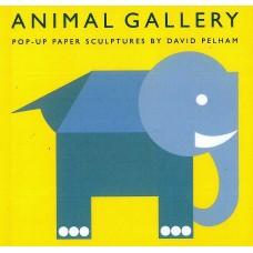 «Галерея животных» книга-панорама на английском Дэвида Пелхэм