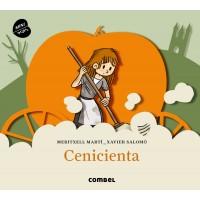 «Золушка» книга-панорама на испанском Меритксель Марти