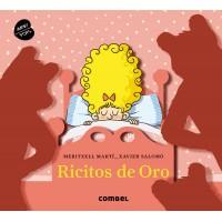 «Златовласка и три медведя» книга-панорама на испанском Меритксель Марти, Ксавьера Саломо
