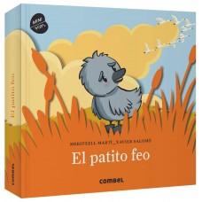 «Гадкий утенок» книга-панорама на испанском Меритксель Марти, Ксавьера Саломо