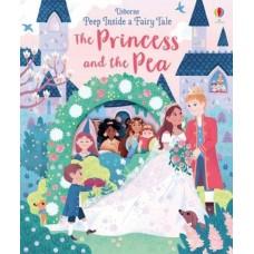 «Принцесса на горошине. Окно в сказку» книга с окошками на английском Анны Милборн, Эллы Бейли