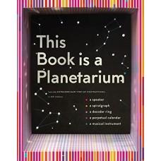 «Эта книга - планетарий и другие научные опыты» книга-панорама на английском Келли Андерсон
