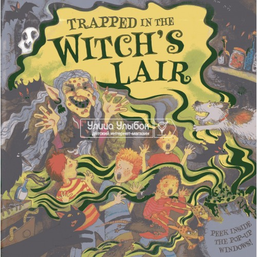 «В логове у ведьмы» книга-панорама на английском Дианы Кэтчполе, Дерин Тейлор