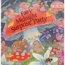 «Тайная вечеринка фей. Сборник рассказов» книга-панорама на английском Дерин Тейлор