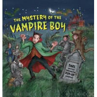 «Тайна мальчика-вампира. Сборник рассказов» книга-панорама на английском Дерин Тейлор, Майка Спур