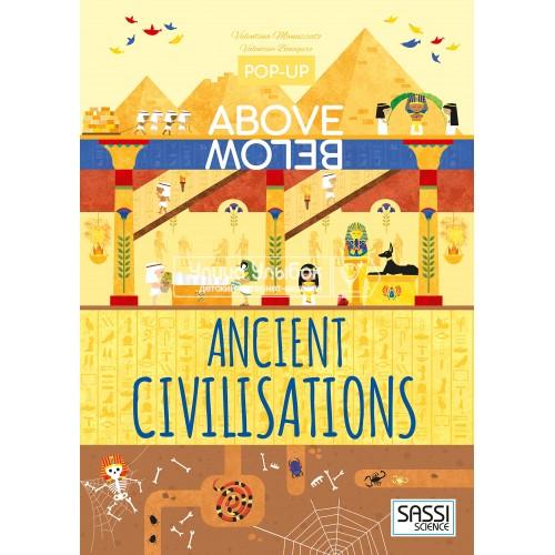 «Древние цивилизации» книга-панорама на английском Валентины Бонакуро, Валентины Манузато