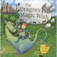 «Волшебное желание дракона. Сборник рассказов» книга-панорама на английском Дерин Тейлор