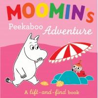 «Муми-тролли едут в отпуск» книга с окошками на английском Туве Янссон