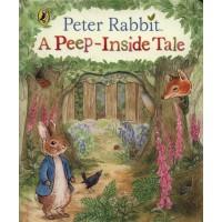 «Кролик Питер. Окно в сказку» книга с окошками на английском Беатрис Поттер