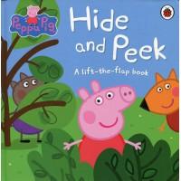 «Свинка Пеппа играет в прятки» книга с окошками на английском