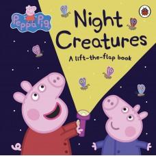 «Свинка Пеппа и ночные существа» книга с окошками на английском