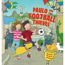«Пауло и футбольные воры. Сборник рассказов» книга-панорама на английском Дерин Тейлор, Тима Хатчинсон