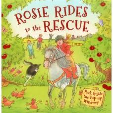 «Пони Рози спешит на помощь. Сборник рассказов» книга-панорама на английском Дерин Тейлор, Лин Стоун