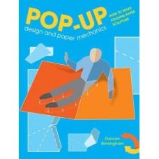 «Учебник по созданию pop up книг» книга-панорама на английском Дункан Бирмингем