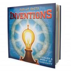 «Pop up факты- изобретения» книга-панорама на английском Питер Булл, Крис Окслейд