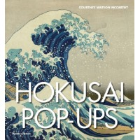 «Кацусика Хокусай. Японская живопись. Pop up» книга-панорама на английском Кортни Уотсон МакКарти