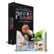 «Disney Pixar: A Pop-Up Celebration» книга-панорама на английском Мэттью Рейнхарт