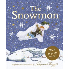«Снеговик. Pop-up иллюстрации» книга-панорама на английском Рэймонд Бриггс
