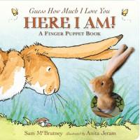 «Знаешь, как я тебя люблю? Книга с пальчиковой игрушкой» книга-панорама на английском