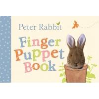 «Учим цифры вместе с Кроликом Питером» книга с пальчиковой игрушкой на английском. Беатрис Поттер