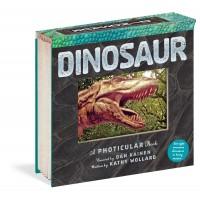 «Динозавры. 3D кадры. Фотикулярная книга» на английском  Дэн Кайнен