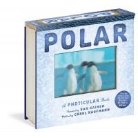 «Животные севера. 3D кадры. Фотикулярная книга» на английском  Дэн Кайнен