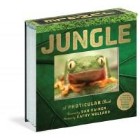 «Джунгли. 3D кадры. Фотикулярная книга» книга-панорама на английском  Дэн Кайнен
